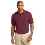 Adult Pique Knit Polo
