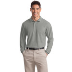 Adult LS Silk Touch Polo