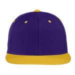 Adult Flat Bill Snapback Cap