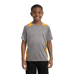 Youth Heather Colorblock T
