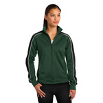 Ladies Piped Track Jacket