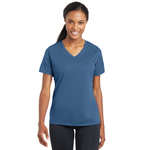 Ladies RacerMesh V Neck