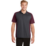 Adult Colorblock Micropique Polo