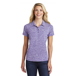 Ladies Electric Heather Polo